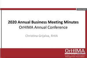 2021 OrHIMA Business Meeting